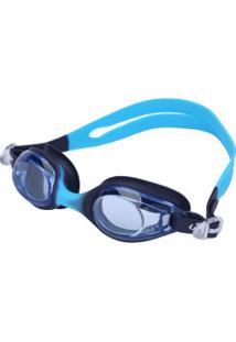 Óculos De Natação Hammerhead Flash - Infantil - Azul Esc/Azul