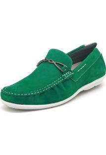 Mocassim Atron Shoes 571 Verde