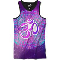 Dafiti. Regata Long Beach Ohm Mandalas Sublimada Roxo 8dfc56c5509