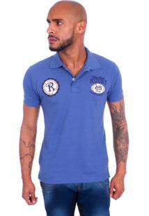 475ae95b89e54 Camisa Polo Rockstar Rugby Azul