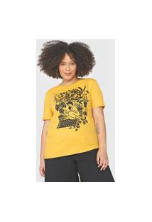 Camiseta Cantão Floresta Urbana Amarela