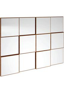Painel Decorativo Tb87 Espelhado 100Cm Nobre Fosco