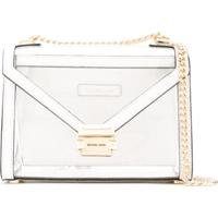 61d9fb211 Bolsa Transparente Ziper feminina | Shoes4you