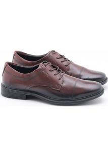 Sapato Social Pegada Jazz Pinhão Masculino