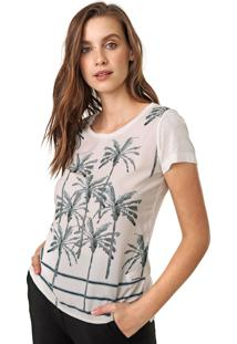Camiseta Acostamento Coqueiros Off-White