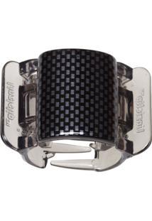 Prendedor De Cabelo Linziclip Core Black/ Grey Check Gloss