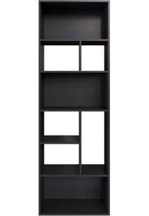 Estante Modern Office Preta 181 Cm