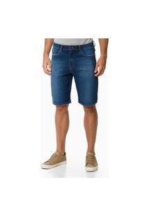 Bermuda Jeans Ckj Five Pockets Carnaby 11 - Azul Médio