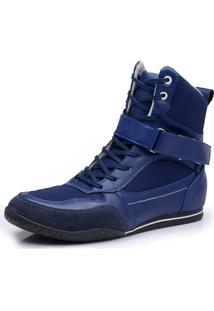 Bota Fitness Avalon Musskop Azul