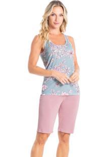 Pijama Bermuda Estampado Miriam