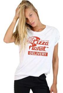 Camiseta Joss Básica Planet Pizza Feminina - Feminino