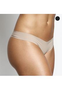 Kit De Calcinhas Fio Dental Invisíveis- Nude & Pretobonjour