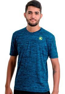 Camisa Esporte Legal Plank Tamanho Especial Azul
