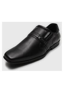 Sapato Social Ferracini Envernizado Preto