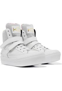 Sneaker K3 Fitness Smooth Branco - Tricae