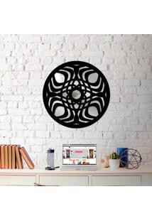 Escultura De Parede Wevans Mandala Modern + Espelho Decorativo