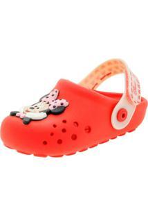 Clog Infantil Baby Disney Mix Vermelho Grendene Kids - 21793