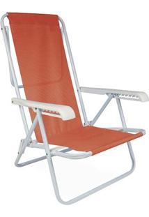 Cadeira Reclinável Aço 8 Posições - Unissex