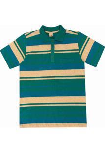 53f52f4154 Camisa Pau A Pique Polo - Masculino-Azul Turquesa