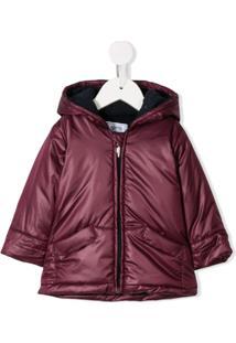 Aletta Padded Hooded Jacket - Roxo