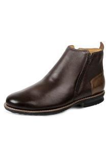 Bota Dress Boot Sandro Moscoloni Floater Good Marrom