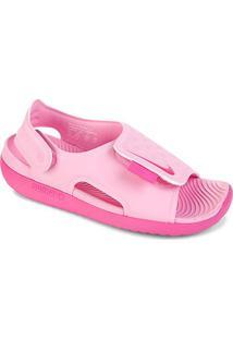 Sandália Infantil Nike Sunray Adjust 5 - Masculino-Rosa