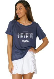 Camiseta Tea Shirt Havana Azul