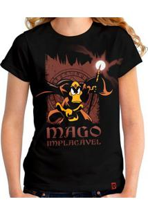 Camiseta Mago Implacável