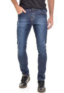 Calça Jeans América Do Sul Slim Fit Masculina
