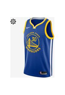 Regata Nike Stephen Curry Icon Edition Swingman (Golden State Warri...