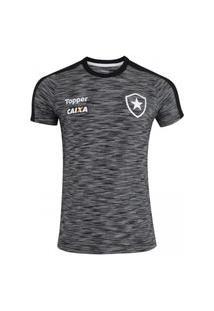 Camisa De Concentraçáo Atleta Botafogo 2018 Topper 4201586-324