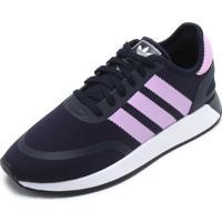 d3b10db630b3f Tênis Adidas Azul Marinho feminino