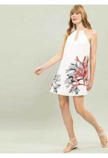 Vestido Com Alça Estampa Cairns - Lez A Lez