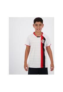 Camisa Flamengo Insight Infantil Branca