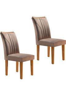 Conjunto Com 2 Cadeiras Belle Ypê E Pena