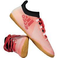 4e595a34d4 Fut Fanatics. Chuteira Adidas X 17.3 In Futsal Vermelha