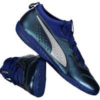 f1973b8e625ea Fut Fanatics. Chuteira Puma One 3 Lth It Futsal Azul