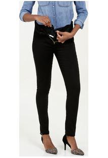 Calça Feminina Bengaline Super Lipo Modeladora Skinny Sawary