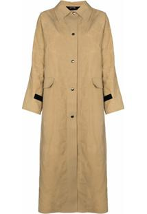 Kassl Editions Trench Coat Encerado - Neutro