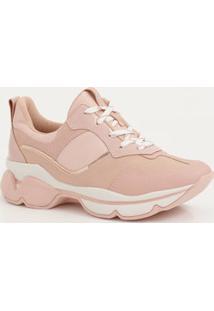 Tênis Feminino Chunky Sneaker Recorte Dakota