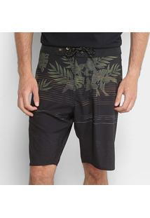 Boardshort Hang Loose Rainforest Masculino - Masculino-Verde