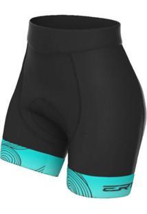 Bermuda Ciclismo Advanced Ert Ocean Feminina - Feminino