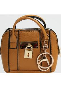 Porta Moedas Chaveiro Mini Bag Le Postiche (Rose, Único)