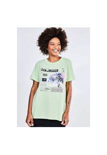 Camiseta Estampa Internet