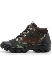 Bota Adventure Masculino Verde Militar