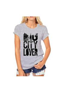 Camiseta Coolest Big City Lovers Cinza