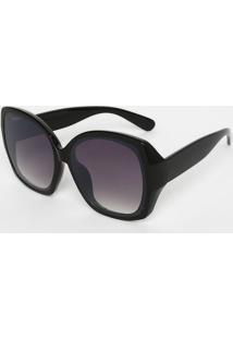 5c868b7be0a08 Óculos De Sol Quadrado - Preto   Roxocavalera