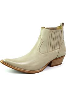 5aca4ab5918a0 Bota Top Franca Shoes Country Cinza