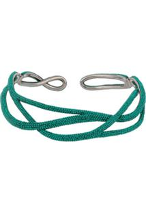 Atelier Swarovski Tigris Statement Necklace - Verde