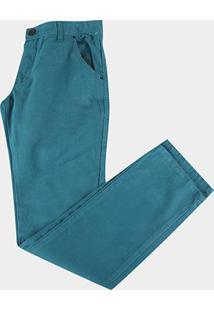 Calça Infantil Color Hd-7577A - Masculino-Azul Petróleo